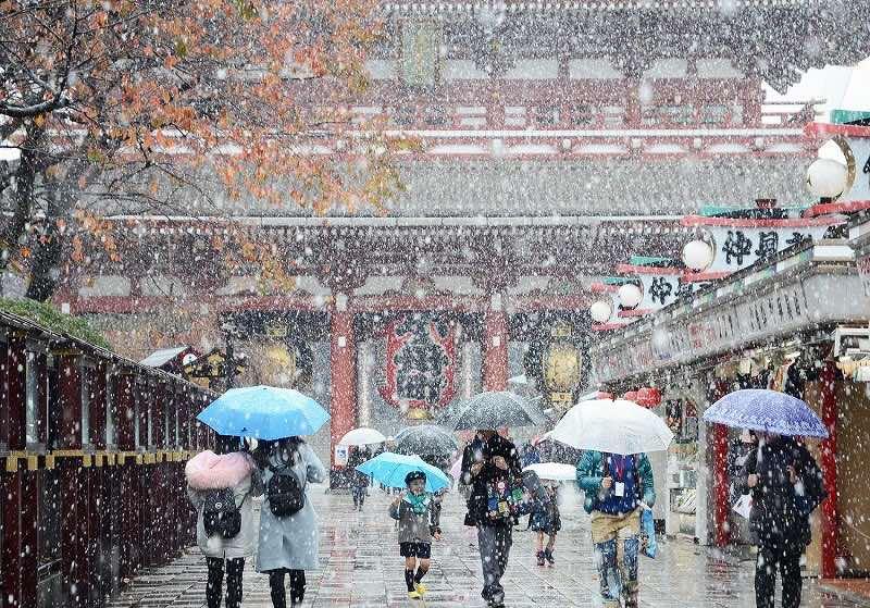 東京の初雪 1876年から2018年(明治10年〜平成30年)の寒候年記録 ...